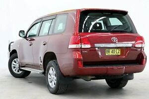 2008 Toyota Landcruiser VDJ200R GXL Maroon 6 Speed Sports Automatic Wagon Seven Hills Blacktown Area Preview