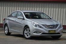 2011 Hyundai i45 YF MY11 Active Silver 6 Speed Automatic Sedan Homebush Strathfield Area Preview