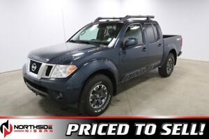 2015 Nissan Frontier 4WD CREWCAB PRO-4X Navigation,  Leather,  H
