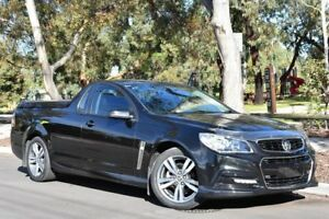 2013 Holden Ute VF MY14 SV6 Ute Black 6 Speed Manual Utility St Marys Mitcham Area Preview