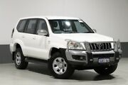 2008 Toyota Landcruiser Prado KDJ120R 07 Upgrade GX (4x4) White 5 Speed Automatic Wagon Bentley Canning Area Preview