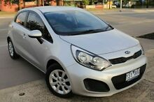 2011 Kia Rio UB MY12 SI Silver 6 Speed Manual Hatchback Berwick Casey Area Preview