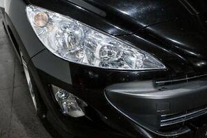 2010 Peugeot 308 T7 CC Black 6 Speed Sports Automatic Convertible Rozelle Leichhardt Area Preview