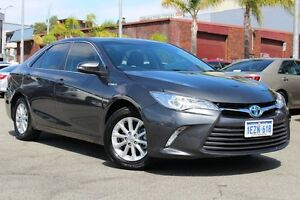 2016 Toyota Camry AVV50R Altise Graphite 1 Speed Constant Variable Sedan Hybrid Northbridge Perth City Area Preview