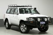 2006 Nissan Patrol GU IV ST (4x4) White 5 Speed Manual Wagon Bentley Canning Area Preview