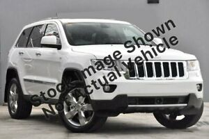 2013 Jeep Grand Cherokee WK MY2013 Overland White 6 Speed Sports Automatic Wagon Pakenham Cardinia Area Preview