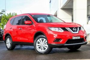 2016 Nissan X-Trail T32 ST X-tronic 4WD Red 7 Speed Constant Variable Wagon Kirrawee Sutherland Area Preview