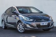 2012 Hyundai Accent RB Elite Grey 5 Speed Manual Sedan Myaree Melville Area Preview