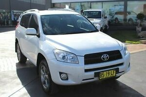 2012 Toyota RAV4 ACA38R MY11 Altitude (2WD) Silver 4 Speed Automatic Wagon Taylors Beach Port Stephens Area Preview