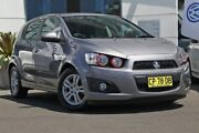 2012 Holden Barina TM Grey 5 Speed Manual Hatchback Gymea Sutherland Area Preview