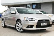 2013 Mitsubishi Lancer CJ MY13 VR-X Silver 6 Speed Constant Variable Sedan Hillcrest Port Adelaide Area Preview