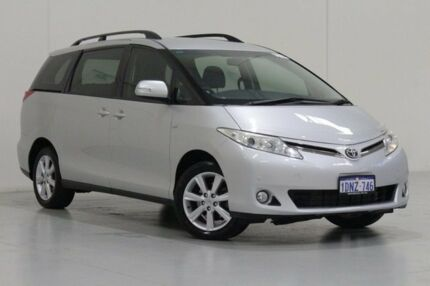 2010 Toyota Tarago ACR50R MY09 GLX Silver 4 Speed Automatic Wagon St James Victoria Park Area Preview