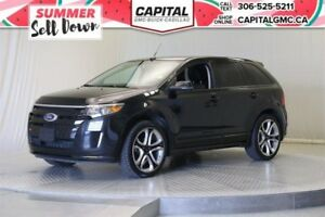 2013 Ford Edge Sport AWD*Sunroof*Leather*Nav*