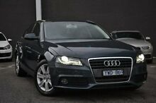 2012 Audi A4 B8 8K MY12 Multitronic Grey 8 Speed Constant Variable Sedan Burwood Whitehorse Area Preview