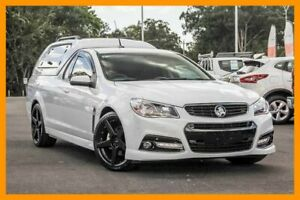 2015 Holden Ute VF MY15 SS Ute Storm White 6 Speed Sports Automatic Utility Aspley Brisbane North East Preview