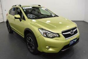 2015 Subaru XV G4-X MY14 2.0i-S Lineartronic AWD Green Metallic Constant Variable Wagon Moorabbin Kingston Area Preview