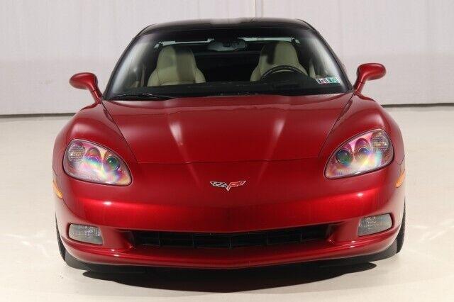 2008 Red Chevrolet Corvette  3LT   C6 Corvette Photo 6