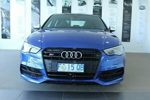 2016 Audi S3 8V MY16 S tronic quattro Blue 6 Speed Sports Automatic Dual Clutch Sedan Kings Meadows Launceston Area Preview