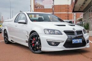 2011 Holden Special Vehicles Maloo E Series 3 R8 White 6 Speed Sports Automatic Utility Fremantle Fremantle Area Preview