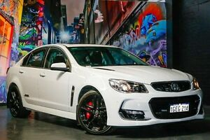2016 Holden Commodore VF II MY16 SS V Redline White 6 Speed Manual Sedan Northbridge Perth City Area Preview
