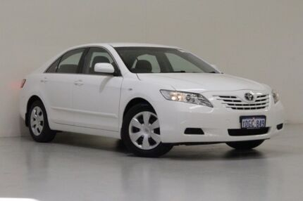 2008 Toyota Camry ACV40R 07 Upgrade Altise White 5 Speed Automatic Sedan Bentley Canning Area Preview