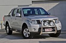 2009 Nissan Navara D40 ST Silver 5 Speed Automatic Utility Hillcrest Logan Area Preview