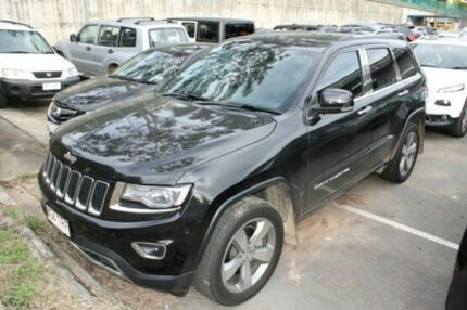 2013 Jeep Grand Cherokee WK MY2014 Limited Brilliant Black 8 Speed Auto Seq Sportshift Wagon Mount Gravatt Brisbane South East Preview