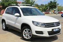 2011 Volkswagen Tiguan 5N MY12 132TSI DSG 4MOTION White 7 Speed Sports Automatic Dual Clutch Wagon Berwick Casey Area Preview