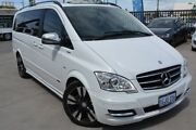 2013 Mercedes-Benz Viano 639 Avantgarde Grand Edition White 5 Speed Auto Touchshift Wagon Welshpool Canning Area Preview