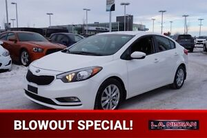 2016 Kia Forte LX AUTOMATIC Accident Free,  Heated Seats,  Bluet