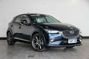 2015 Mazda CX-3 DK2W7A Akari SKYACTIV-Drive Blue 6 Speed Sports Automatic Wagon Victoria Park Victoria Park Area Preview
