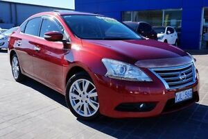 2012 Nissan Pulsar B17 TI Cayenne Red 1 Speed Constant Variable Sedan Pearce Woden Valley Preview