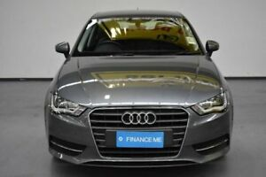 2016 Audi A3 8V MY16 Attraction Sportback S tronic Grey Metallic 7 Speed