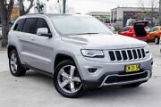 2014 Jeep Grand Cherokee WK MY2014 Limited Silver 8 Speed Sports Automatic Wagon Penrith Penrith Area Preview