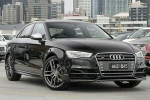 2016 Audi S3 8V MY16 S tronic quattro Black 6 Speed Sports Automatic Dual Clutch Sedan North Melbourne Melbourne City Preview