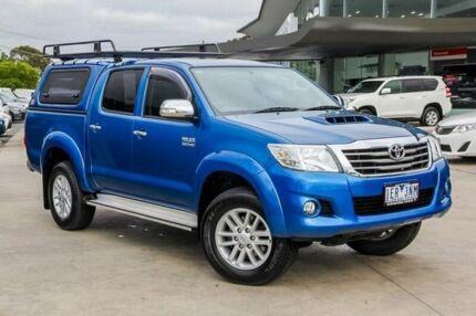 2015 Toyota Hilux Blue Automatic Utility