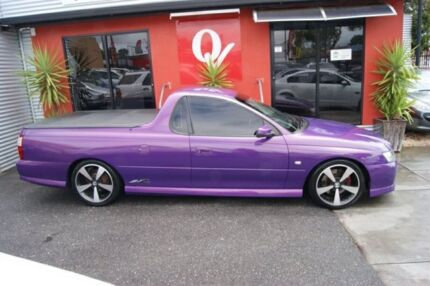 2007 Holden Commodore VZ SVZ Purple 5 Speed Automatic Utility Blair Athol Port Adelaide Area Preview