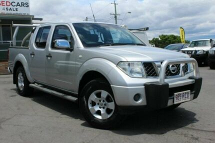 2007 Nissan Navara D40 ST-X Silver 6 Speed Manual Utility