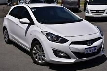 2012 Hyundai i30 GD Active White 6 Speed Sports Automatic Hatchback Myaree Melville Area Preview