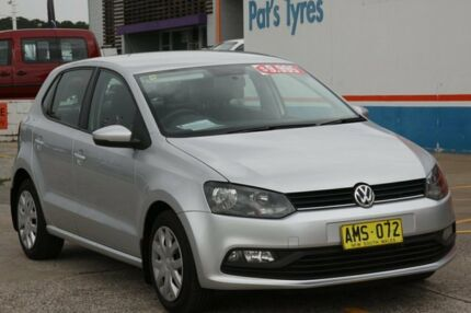 2015 Volkswagen Polo 6R MY16 66 TSI Trendline Silver 7 Speed Auto Direct Shift Hatchback Fyshwick South Canberra Preview