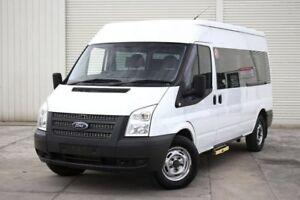 2012 Ford Transit VM 330 Mid Roof MWB White 6 Speed Manual Van