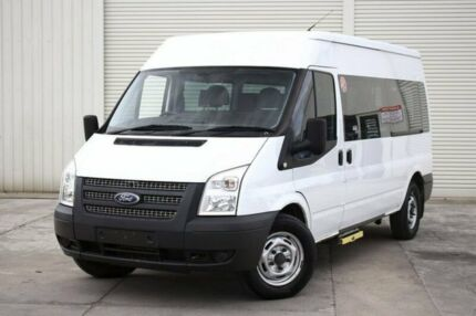 2012 Ford Transit VM 330 Mid Roof MWB White 6 Speed Manual Van