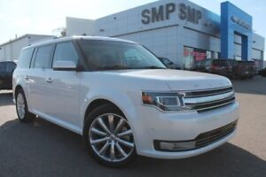 2017 Ford Flex Limited w/EcoBoost - Nav, Leather, Sunroof, 7 Pas