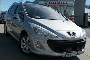 2010 Peugeot 308 T7 XSE HDi Touring Silver 6 Speed Sports Automatic Wagon Pearce Woden Valley Preview