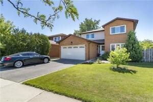 Mississauga 4 Bed 4 Bath Detached Home Burnhamthorpe / Wolfedale