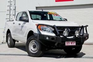 2012 Mazda BT-50 UP0YF1 XT White 6 Speed Sports Automatic Utility Hillcrest Logan Area Preview