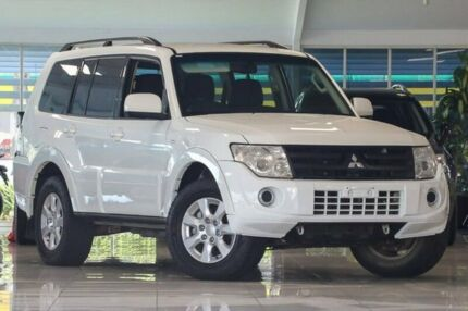 2014 Mitsubishi Pajero NW MY14 GLX-R White 5 Speed Sports Automatic Wagon Dandenong Greater Dandenong Preview