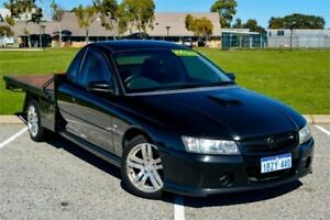 2005 Holden Commodore VZ One Tonner S Black 4 Speed Automatic Cab Chassis Rockingham Rockingham Area Preview