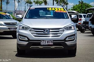 2012 Hyundai Santa Fe DM MY13 Active Silver 6 Speed Sports Automatic Wagon Garbutt Townsville City Preview