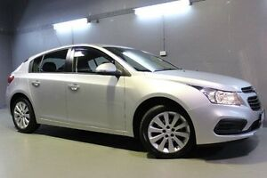 2016 Holden Cruze JH Series II MY16 Equipe Silver 6 Speed Sports Automatic Hatchback Invermay Launceston Area Preview
